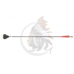 LARP Arrow Flat Head