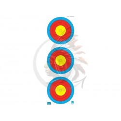 JVD Target Face Fita 3X40 cm. Vertical CP